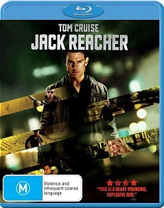 Jack Reacher on Blu-ray