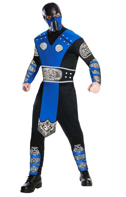 Mortal Kombat Subzero Adult Costume - Medium