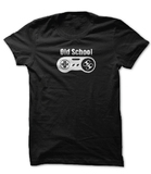 Old School Gamer Youth T-Shirt (Large)