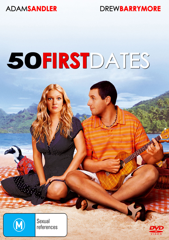 50 First Dates on DVD
