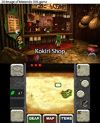 Legend of Zelda: Ocarina of Time 3D (Selects) for 3DS image