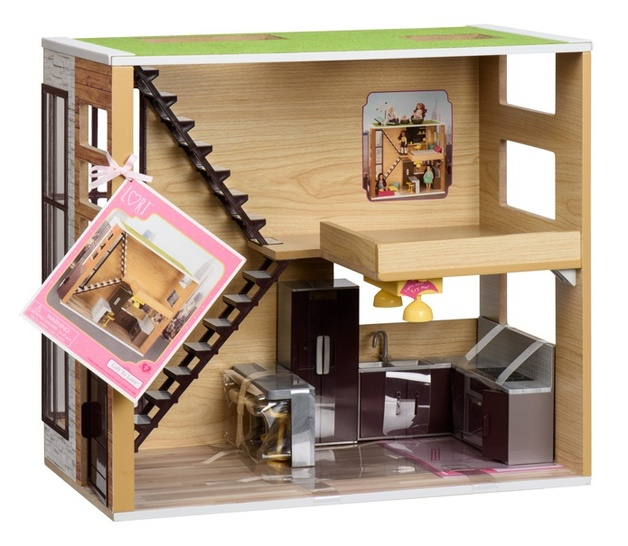 Loft To Love Doll House Toy At Mighty Ape Australia