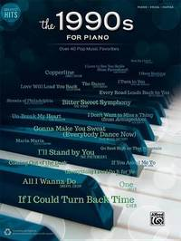 Greatest Hits -- The 1990s for Piano image