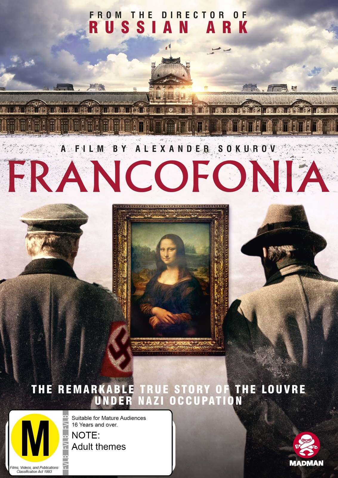 Francofonia on DVD image