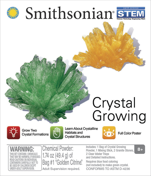 Smithsonian: Micro Science kits - Crystal Growing