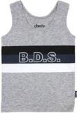 Bonds Stetchy Chesty - BDS Stripe Harpoon - 3-6 Months