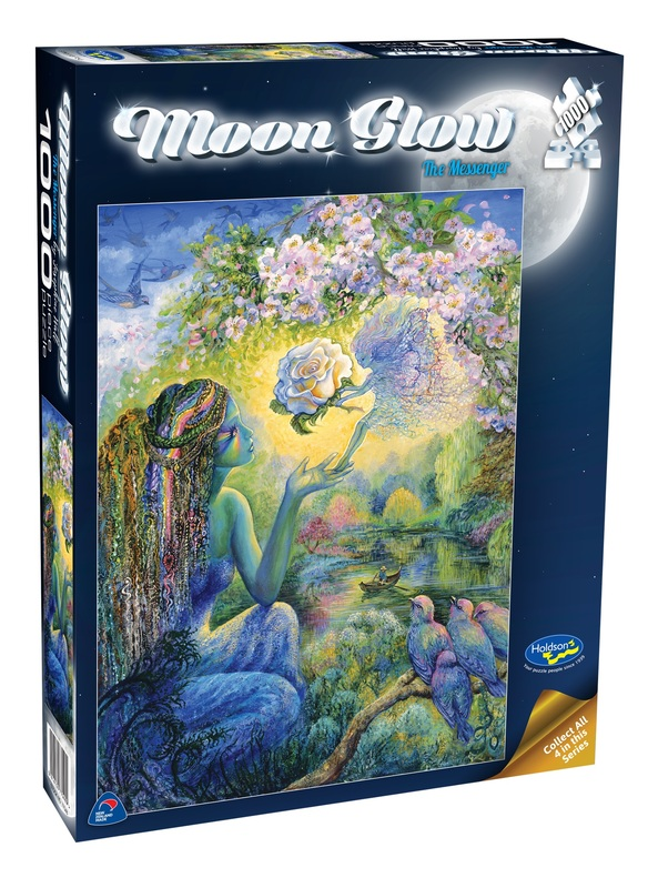 Holdson: 1000 Piece Puzzle - Moon Glow (The Messenger)