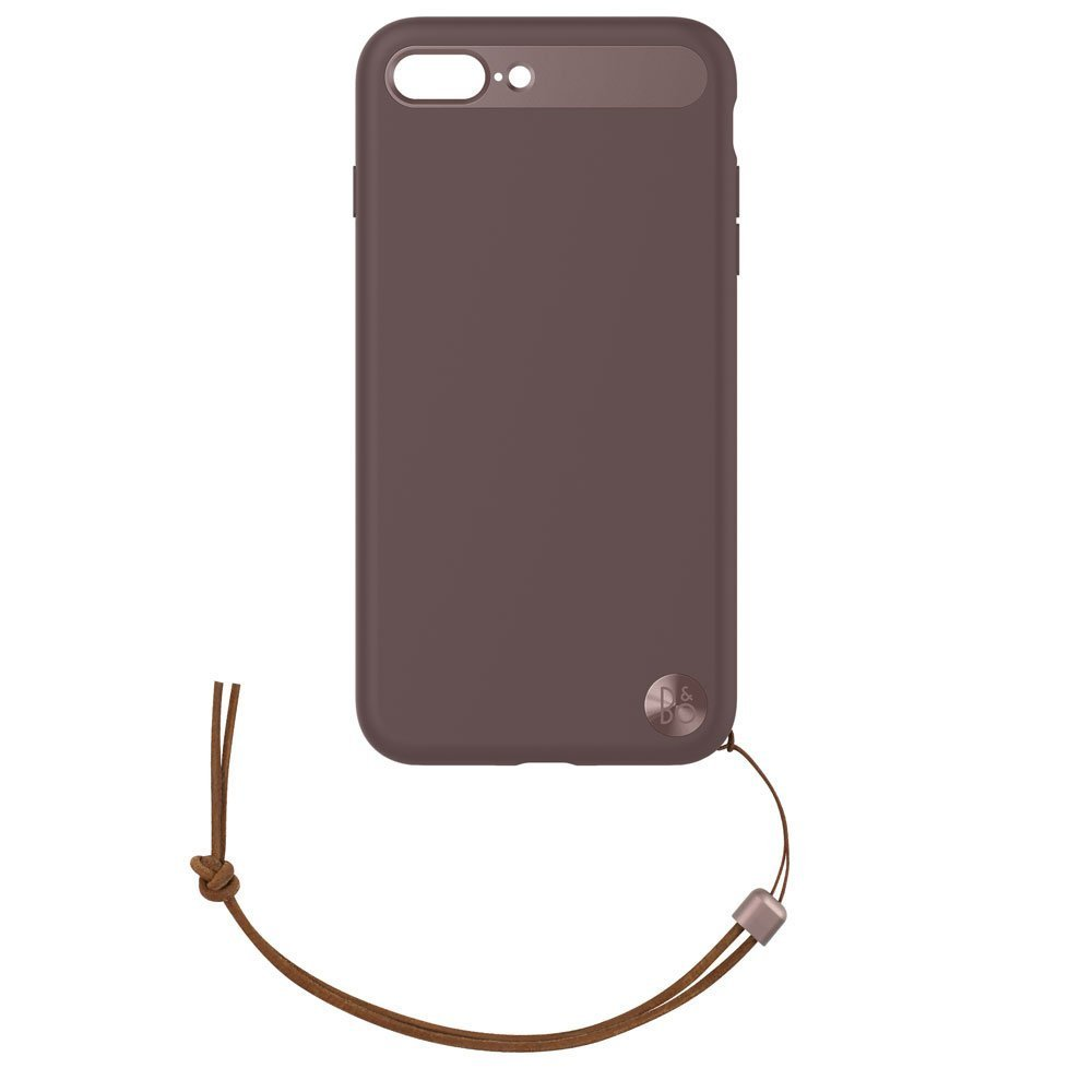 B&O Case with Lanyard for iPhone 8 Plus & iPhone 7 Plus - Deep Red image
