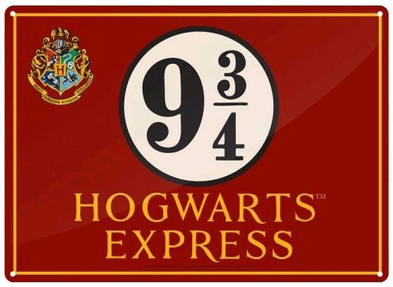Harry Potter - Hogwarts Express Small Tin Sign image