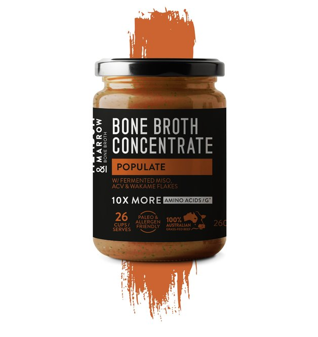 Meadow & Marrow Bone Broth - Populate (260g)