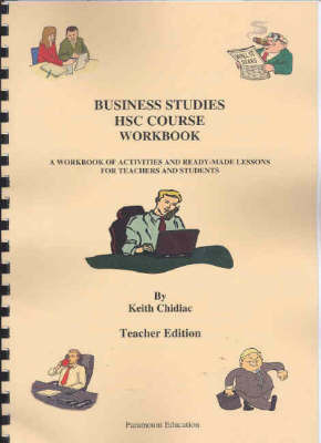 Business Studies HSC Course Workbook | Keith Chidiac Book | Buy Now