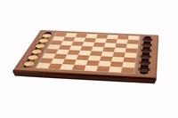 Dal Rossi Checker Board & Pieces