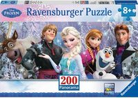 Ravensburger 200 Piece Panorama Jigsaw Puzzle - Disney Frozen Friends