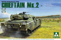 Takom 1/35 British Main Battle Tank Chieftain Mk.2