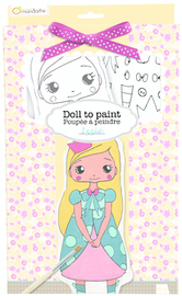Doll to Paint - Izzie