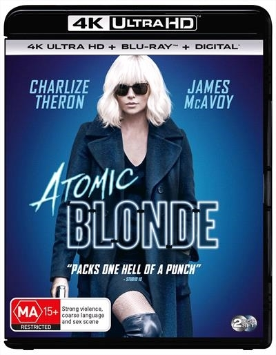 Atomic Blonde on UHD Blu-ray image