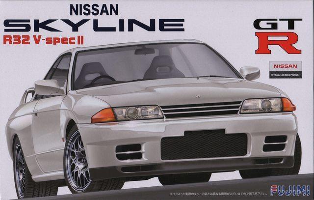 Fujimi 1/24 Nissan R32 GT-R V Spec II 1994 - Model Kit image