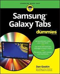 Samsung Galaxy Tab For Dummies by Dan Gookin