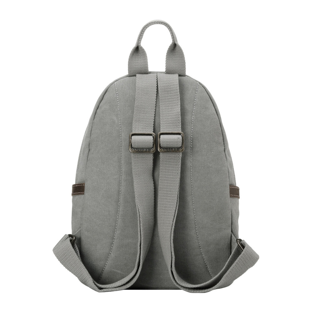 Troop London: Classic Small Backpack - Ash Grey image