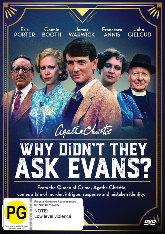 Agatha Christie's - Why Didn't They Ask Evans? on DVD