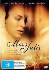 Miss Julie on DVD