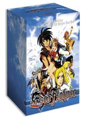 Escaflowne Vol. 1 + Collector's Box on DVD
