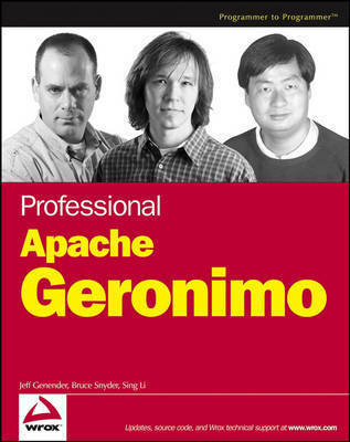 Professional Apache Geronimo by Jeff Genender