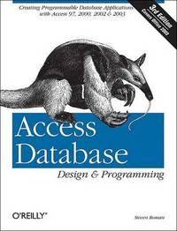 Access Database Design & Programming by Steven Roman