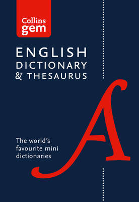 English Gem Dictionary and Thesaurus by Collins Dictionaries