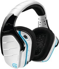 Logitech G933 RGB Wireless 7.1 Gaming Headset - White for