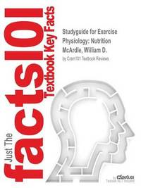 Studyguide for Exercise Physiology by Cram101 Textbook Reviews image