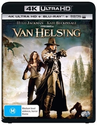 Van Helsing on UHD Blu-ray
