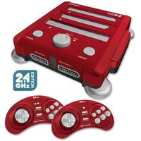 Hyperkin Retron 3 Gaming Console - Laster Red for