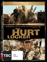 The Hurt Locker on DVD