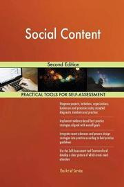 Social Content Second Edition by Gerardus Blokdyk image