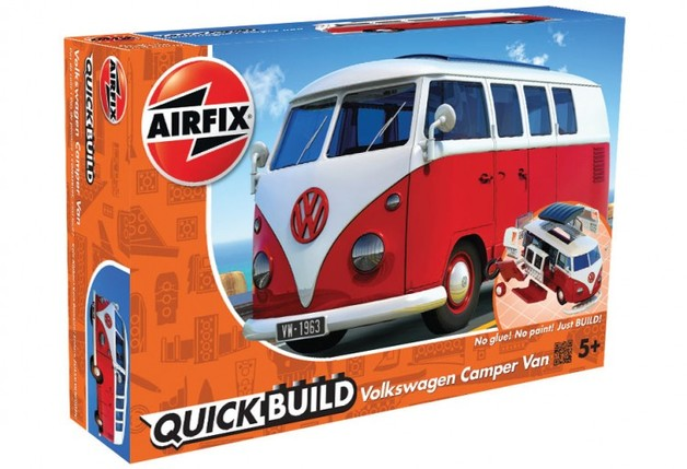 Airfix Quickbuild VW Camper Scale Model Kit