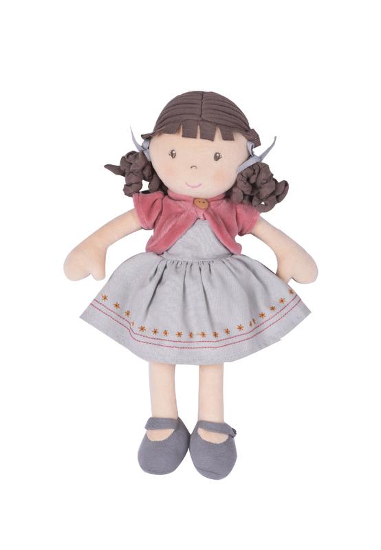 Tikiri: Bonikka Organic Rose Doll (32cm)