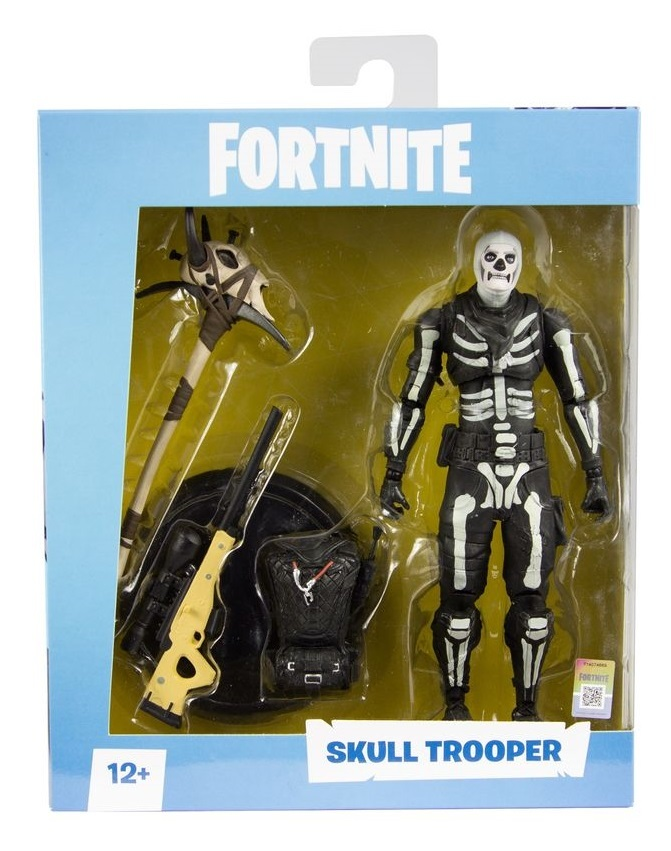 "Fortnite: Skull Trooper - 7"" Articulated Figure image"