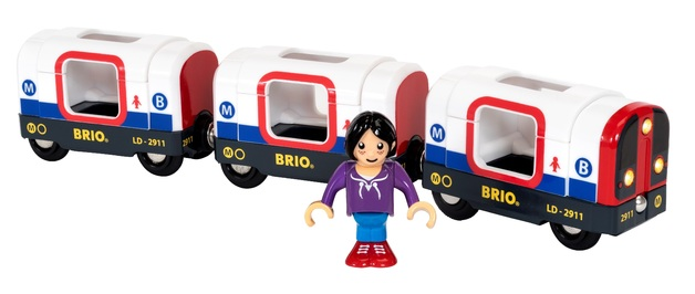 Brio: Railway - Metro Train