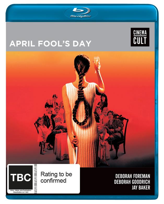 April Fools Day on Blu-ray