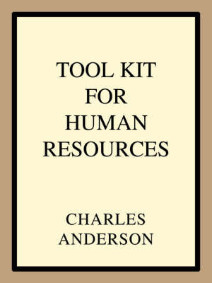Tool Kit for Human Resources by Charles Anderson image