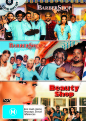Barbershop / Barbershop 2 / Beauty Shop (3 Disc Set) on DVD