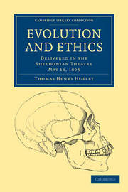 Cambridge Library Collection - Philosophy by Thomas Henry Huxley