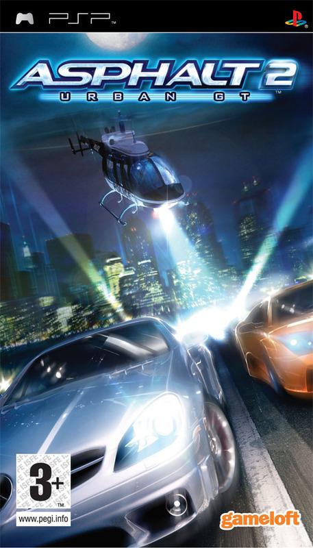 Asphalt: Urban GT 2 for PSP