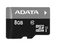 8GB ADATA Premier - MicroSDHC Card (UHS-I Class 10)