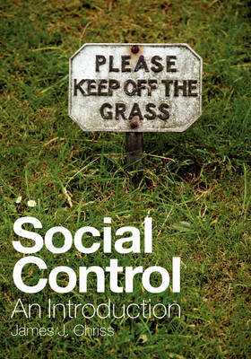 Social Control: An Introduction by James J Chriss image