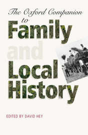 The Oxford Companion to Family and Local History image