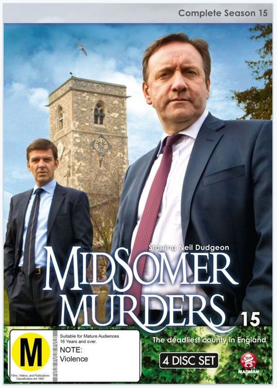 Midsomer Murders - Complete Season 15 on DVD