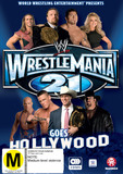WWE - Wrestlemania 21 Goes Hollywood on DVD