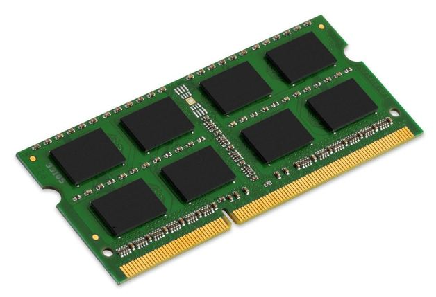 8GB Kingston 1600MHz DDR3 SODIMM